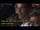 Cristiano Ronaldo fica irritado com câmera filmando ele após ser substituído