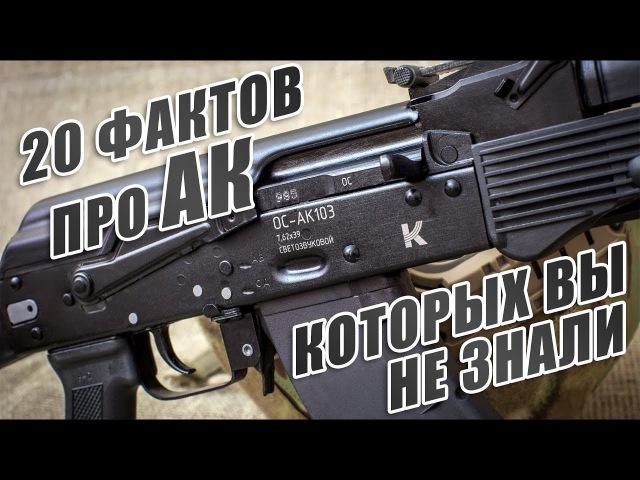 20 неизвестных фактов об автомате Калашникова