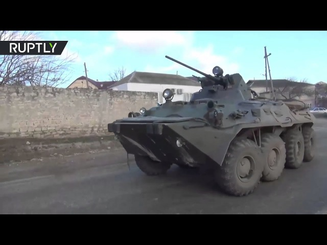 Special Forces op against suspected militants in Dagestan, Russia