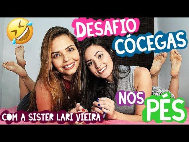 DESAFIO DAS CÓCEGAS - ft. Lari Vieira (PARTE 1)