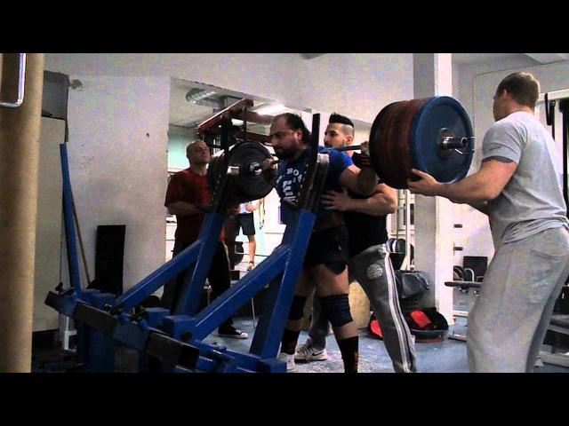 Zahir Khudayarov 360 x 2 RAW Squat