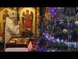 Колядка «О, Дево Чистая Святая» в исполнении митр. Арсения и братии. 8.1.17г.