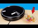 Новый говорящий Робот пылесос с камерой против Шариков Орбиз! ILIFE A8 Распаковка и обзор alex boyko