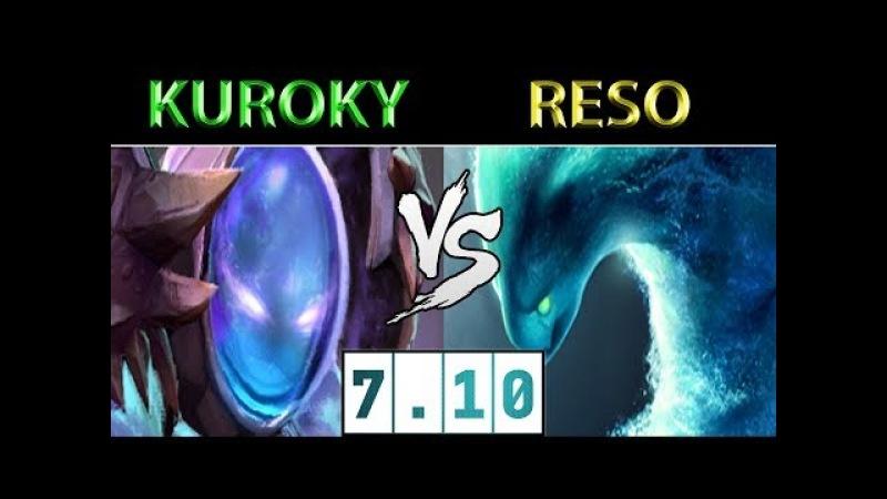 Kuroky [Arc Warden] vs Resolut1on [Morphling] ► Dota 2 7.10