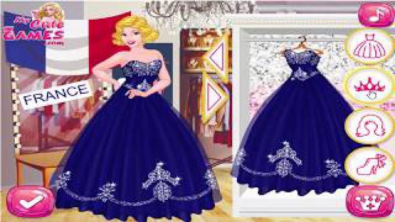 Disney Princess Games - Dress Up And make Up - International Royal Beauty