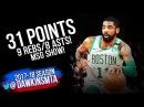 Kyrie Irving Full Highlights 2018 02 24 Boston Celtics at New York Knicks 31 Pts FreeDawkins