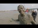 Японский шоу бизнес и соревнования в бассейне из грязи Япония Мир наизнанку 14 серия 9 сезон