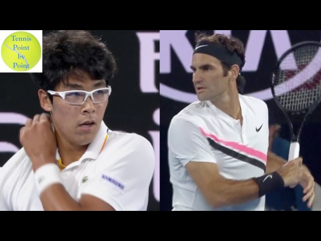 Full Match Highlights - Roger Federer vs Hyeon Chung - AO 2018 SF