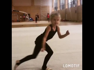 Когда Гимнастке дали ИМПРОВИЗАЦИЮ😂Патимейкер😂 Полина♥ лапочка