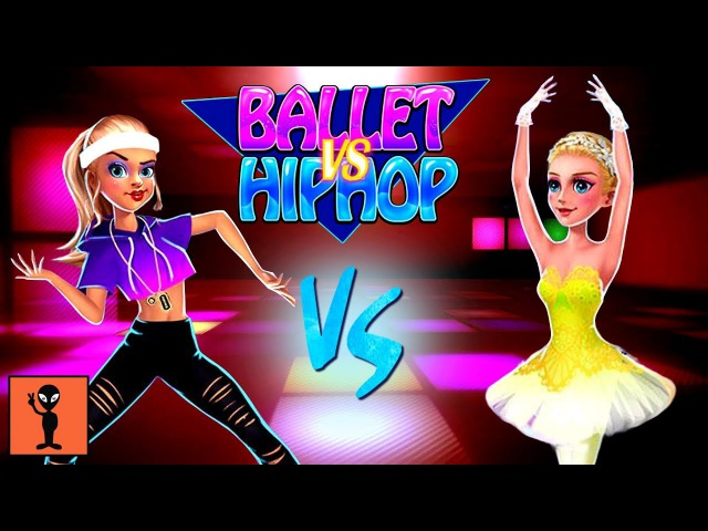 Dance War - Ballet vs Hiphop - Games For Kids To Play Android Gameplay Funny Videos Girls Game
