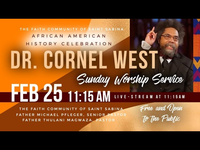 Dr. Cornel West - African-American History Celebration