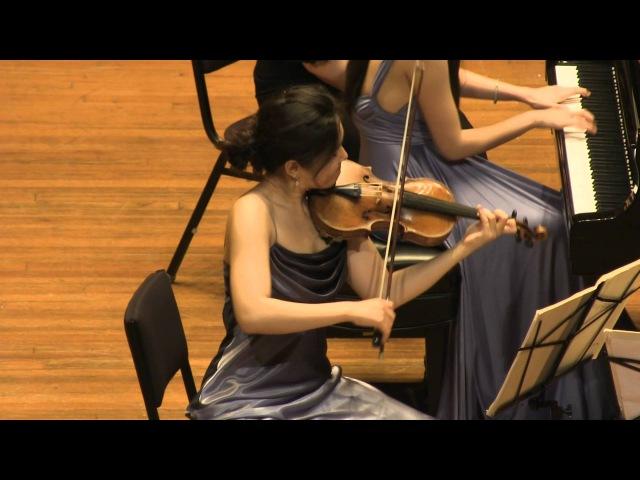 Mozart Piano Trio in G. K. 496. played by Clara Trio (Filmed by SiMon)