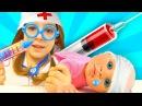 Куклы Беби Бон играем в Доктора УКОЛ КУКЛЕ Сборник видео для детей