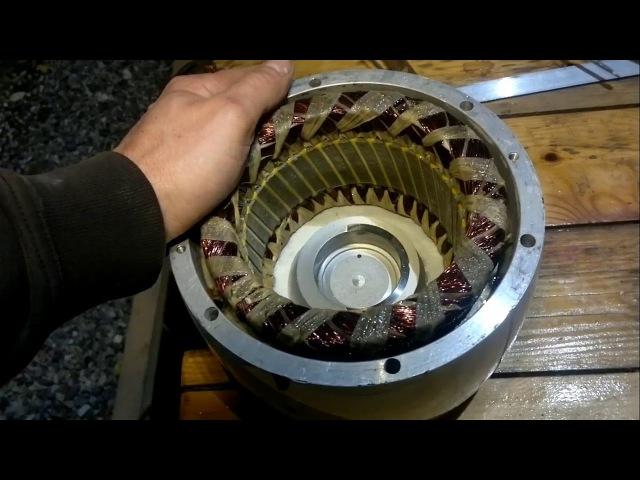 Ветрогенератор Bekar 1000обзорразборремонтЭДС