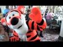 Meeting Winnie the Pooh Tiger Eeyore and Piglet