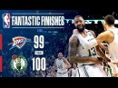 Down To The Last Second OKC vs Boston NBANews NBA Celtics Thunder