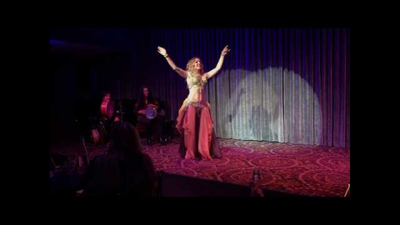 Maria at Susu show ~ bellydance ~ live music tabla solo
