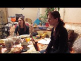 21.10.2017 День Рождения Игоря Чудова  Ой да не вечер  Игорь, Ната и Юля