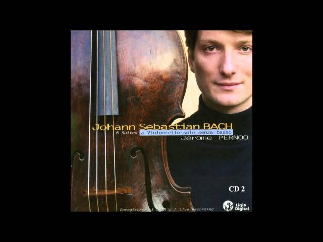 J S Bach - Cello Suite No 2 in D minor BWV 1008 (Jérôme Pernoo)