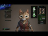 Monster Hunter World Character Creation - Palico (PS4 Pro)