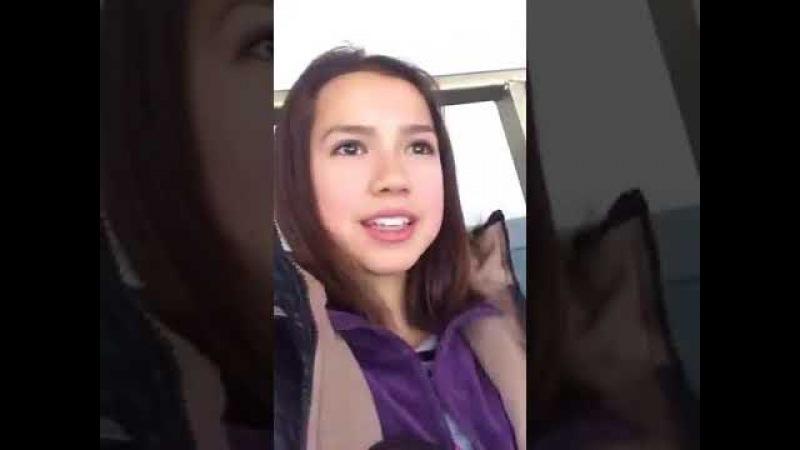 Periscope Archive For Fans. Alina Zagitova 20.11.2015