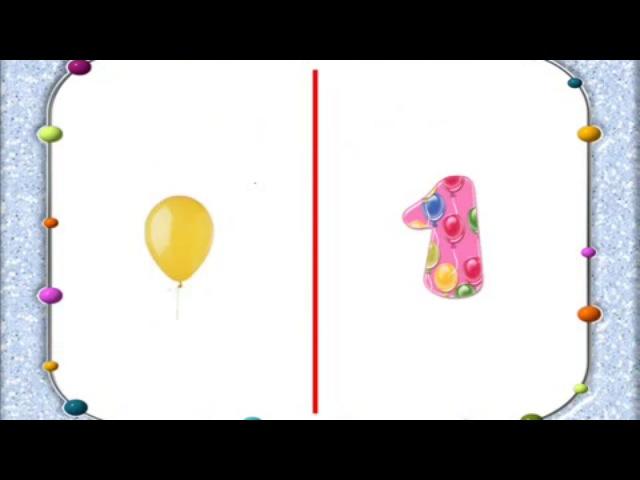 Детский развивающий мультик Считалочка от 1 до 10