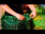 Как сделать гавайский костюм DIY /юбка Таити на утренник/для танца живота на новый...