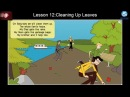 English Listening for Beginners: Lesson 12 - Cleaning Up Leaves