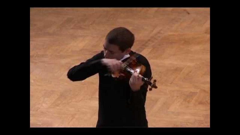 J. S. Bach: Sonata for solo violin in g minor, Presto (Kristóf Baráti)