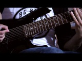After the Burial - Fingers Like Daggers - INSTRUMENTAL COVER - Andrew Baena