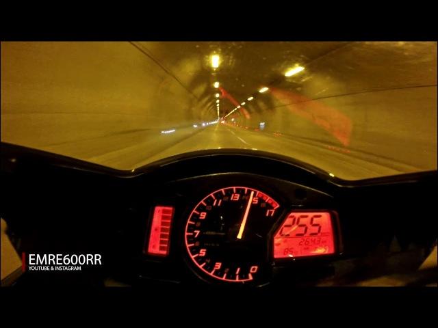 '14 CBR 600RR Exhaust Sound