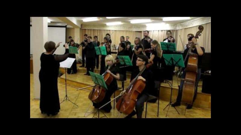 С Киселёв Парафраз на музыку из к ф П Тодоровского По главной улице с оркестром