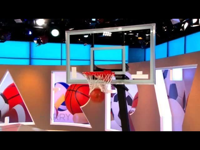 "Harry Connick Jr on Instagram ""Watch Harry and Tech Contributor @TechLifeSteph shoot some hoops with this basketball that tracks your shots! Harr..."