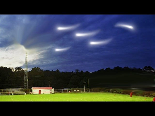 New formations of UFOs in the skies Are aliens trying to communicate with us