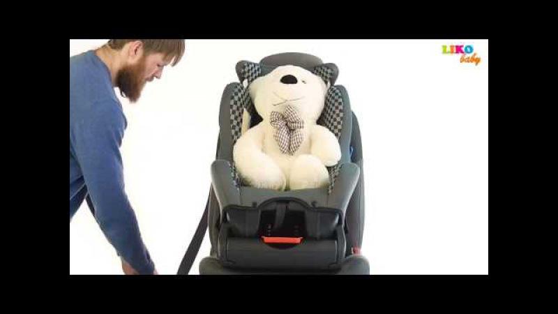 Установка Детского Автокресла в Автомобиль Liko Baby LB 718