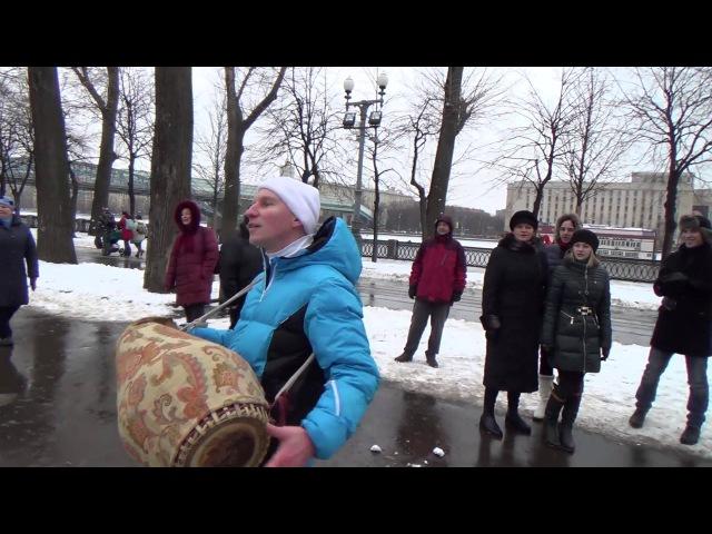 2014 01 05 Харинама в парке Горького