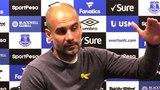 Everton 1-3 Manchester City - Pep Guardiola Post Match Press Conference - Embargo Extras