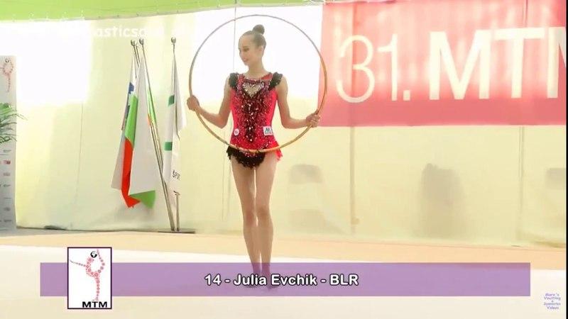 Julia Ecvhik - Hoop Final - MTM Ljubljana Tournament 2018