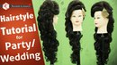 Hair Style Tutorial Video For Wedding Step by Step Party Hairstyle Tutorial Krushhh by Konica