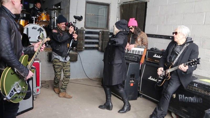 Behind the Scenes Long Time Video Shoot Blondie
