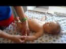 Зарядка для малыша 2-4 месяцев. Гимнастика для грудного ребенка. Массаж для младенца