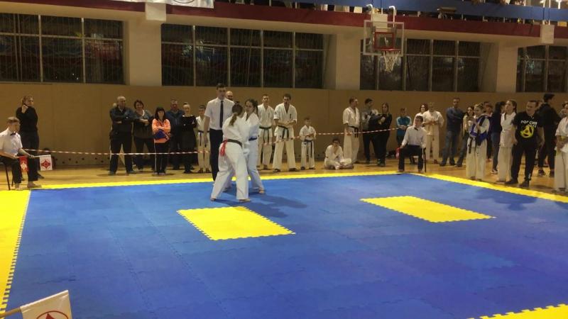 Чемпионат Свердловской области по Кёкусин-кан каратэ-до - 2-й бой
