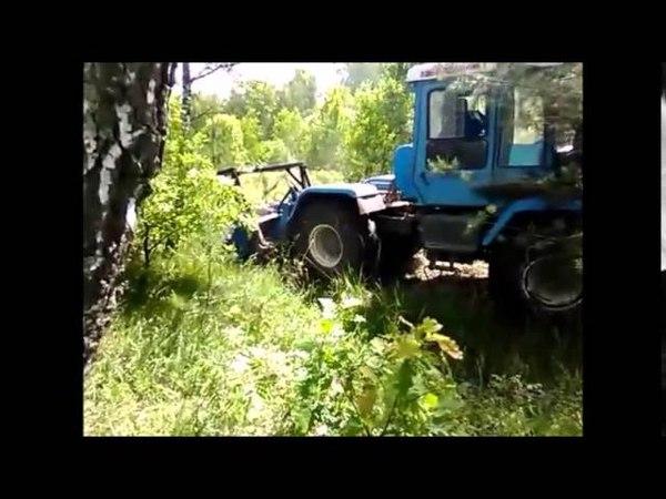 мульчер ИЛН трактор ХТЗ т-150