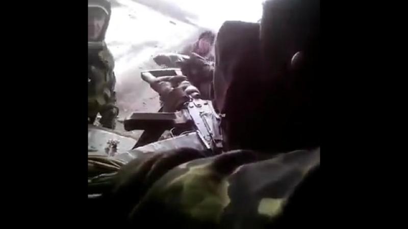 Дебальцево 11 февраля 2015 Взятие всушников в плен