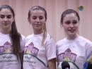 Запальні дівчата -переможці районного етапу конкурсу дружин юних пожежників.