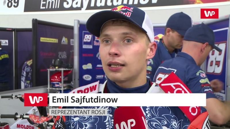 Эмиль Сайфутдинов и Артем Лагута о Speedway Of Nation (на польском)