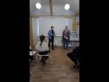 выступление почётного жителя МО Солнечное, полярника Баранова В. В., с лекцией, в рамках досуговых