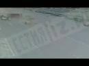 ДТП с грузовиком на Рязанском проспекте в Москве Обратите внимание на то как буднично поехали по своим делам другие машины Росс