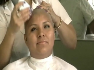 Gabby is headshave
