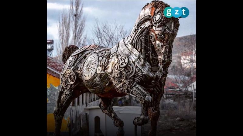 Скульптор который дает второй шанс металлу